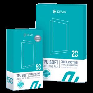 Pack 50 láminas Hidrogel Smartphone + 20 láminas Hidrogel Tablet