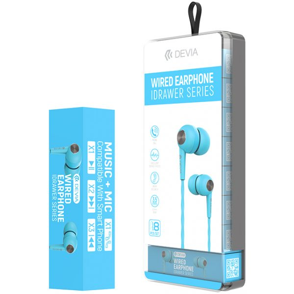Auriculares Idrawer Kintone Series - Jack 3.5mm (8 unidades/pack)