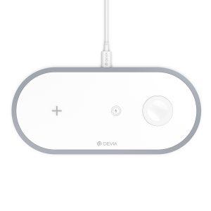 Cargador 3 en 1: Smartphone, Smartwatch y Auriculares(10W)