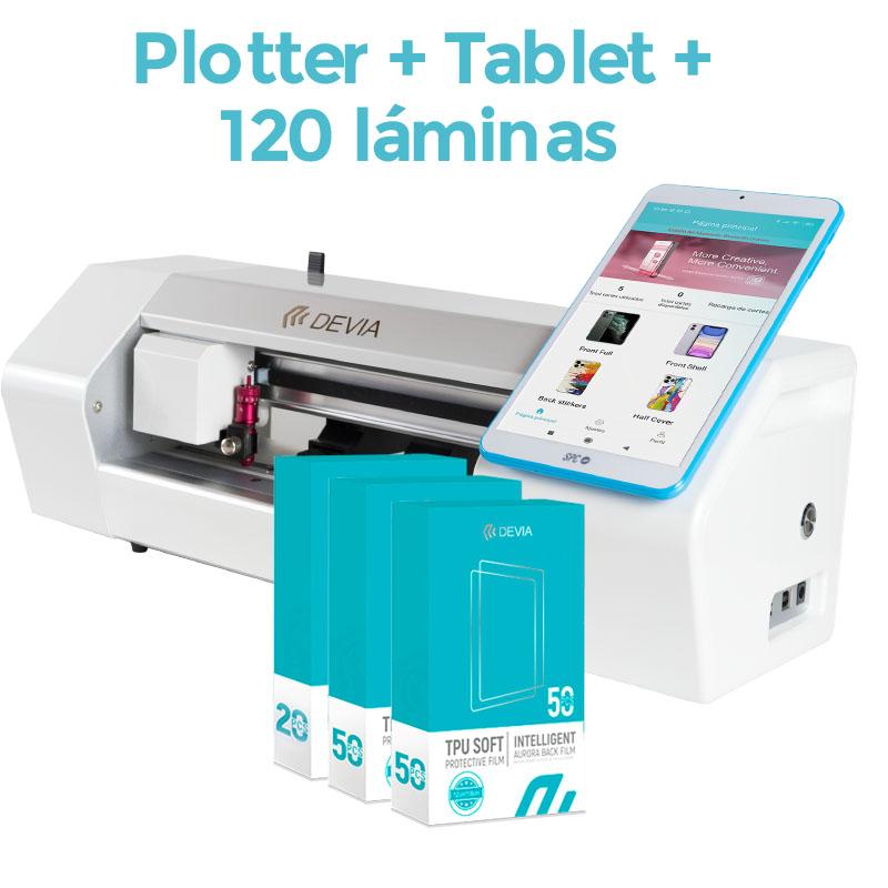 Pack Devia Compact 12″ con TABLET – Plotter de corte + 120 Láminas