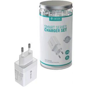 Cargador Smart Series (EU,a EV 2.1, 1 USB) (14 unidades/bote)